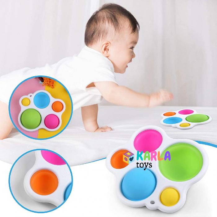 Joc Senzorial Dimple Fidget Placa de exerciti senzoriala copii [2]