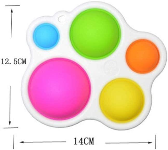 Joc Senzorial Dimple Fidget Placa de exerciti senzoriala copii [6]