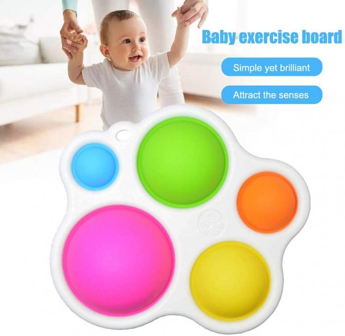 Joc Senzorial Dimple Fidget Placa de exerciti senzoriala copii [5]
