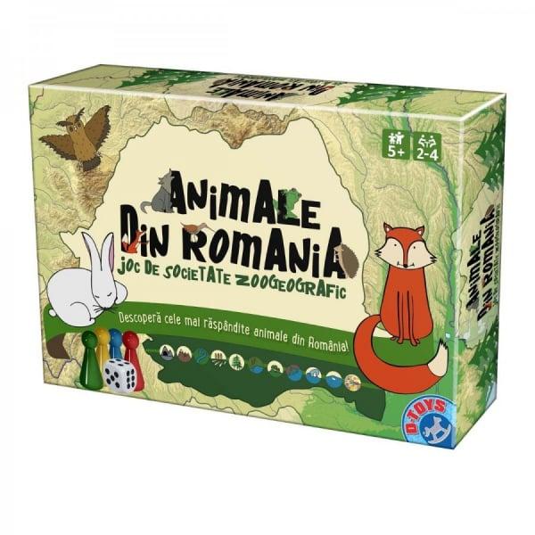 Joc de societate Zoogeografic Animale din Romania 0