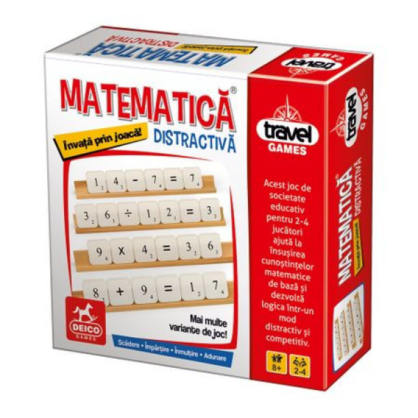 Joc de societate educativ Matematica Distractiva 0