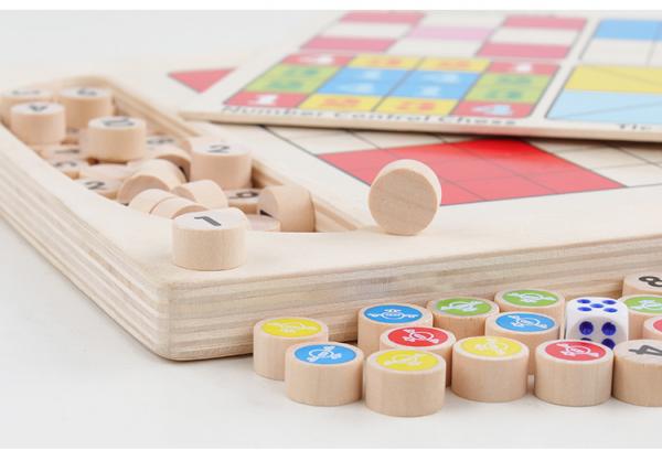 Joc din Lemn Sudoku 4 in 1 - Joc Sudoku Multifuctional din lemn 6
