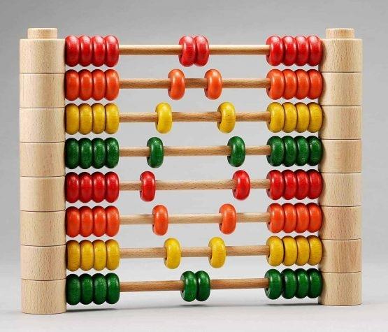 Abac Montessori din lemn multifunctional 5