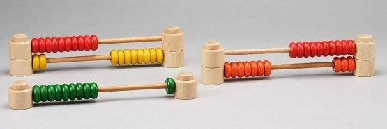 Abac Montessori din lemn multifunctional 6