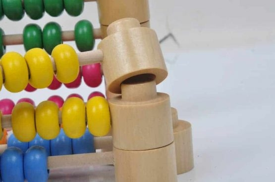 Abac Montessori din lemn multifunctional 8