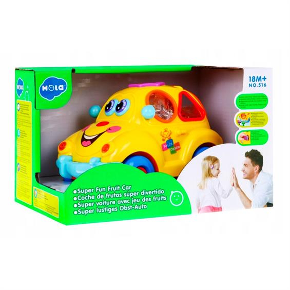 Jucarie interactiva bebe Masinuta Smart Bus [0]