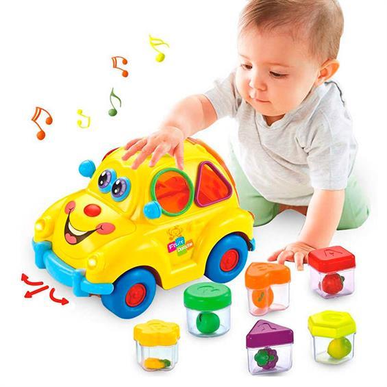 Jucarie interactiva bebe Masinuta Smart Bus [1]