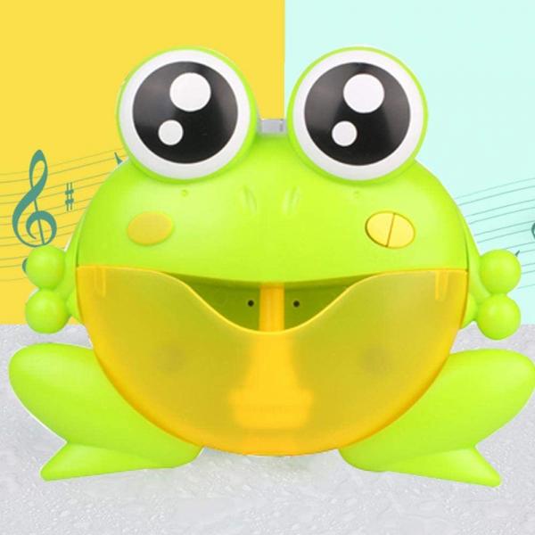 Jucarie de baie Broascuta muzical - Jucarie de facut baloane Broascuta 1