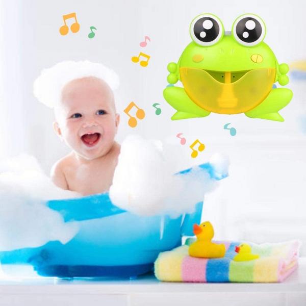 Jucarie de baie Broascuta muzical - Jucarie de facut baloane Broascuta 5
