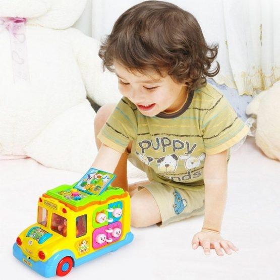 Jucarie  bebe Autobuzul  Scolii Muzical 3