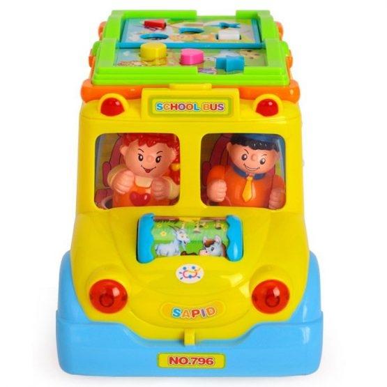Jucarie  bebe Autobuzul  Scolii Muzical 5