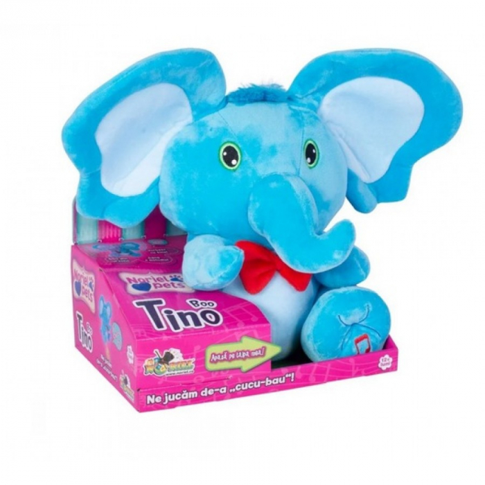 Jucarie Interactiva Elefantul Tino Boo Cucu-Bau [0]