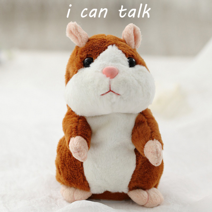 Hamsterul Vorbitor Jucarie interactiva de plus 0