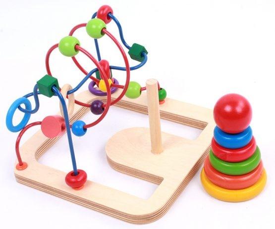 Jucarie motricitate 2 in 1 Labirint turn 1