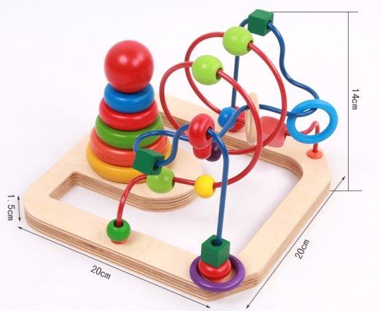 Jucarie motricitate 2 in 1 Labirint turn 2