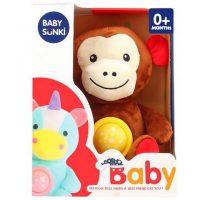Jucarie plus bebelus cu muzica si proiector Animale Baby Snuki 1
