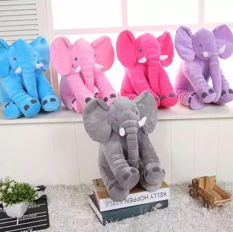 Jucarie plus si pernuta bebe elefant cu paturica 6