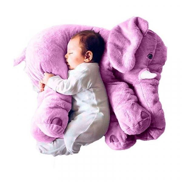 Jucarie plus si pernuta bebe elefant cu paturica 5