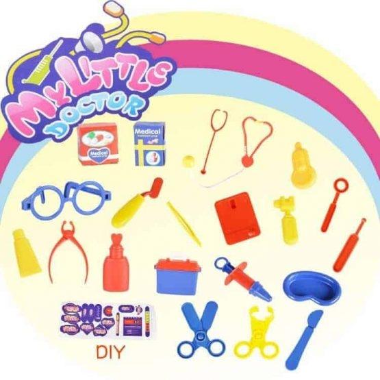 Set  doctor pentru copii troler 4