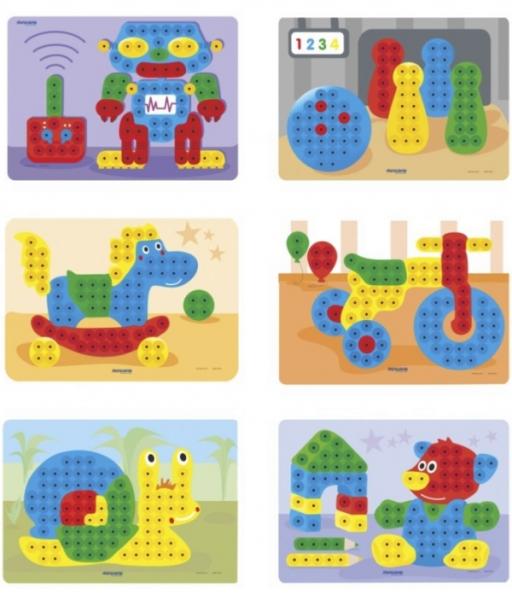 Set Mozaic Magic Pegs 160 piese 2