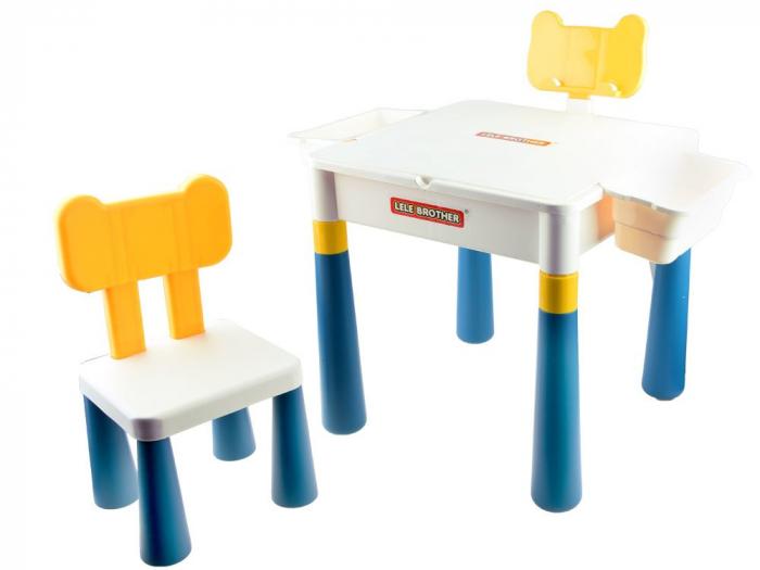 Masa Cuburi Lego cu scaun si spatiu de depozitare [1]