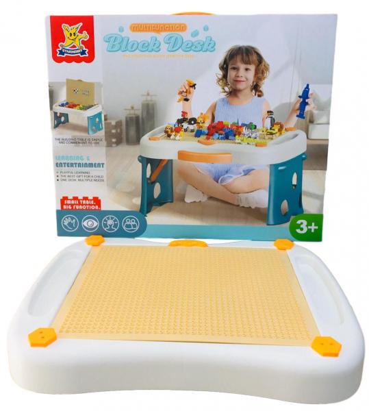 Masa tip lego pliabila 300 piese - Birou multifunctional diverse activitati 2