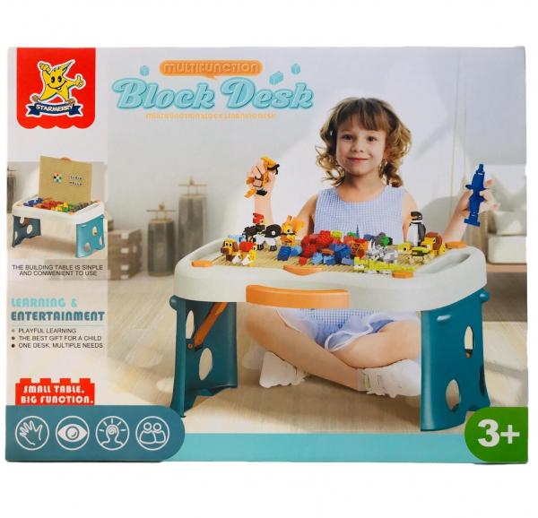 Masa tip lego pliabila 300 piese - Birou multifunctional diverse activitati 0