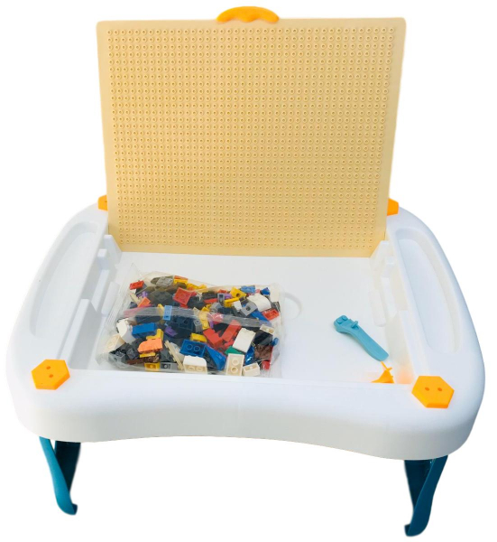 Masa tip lego pliabila 300 piese - Birou multifunctional diverse activitati 6