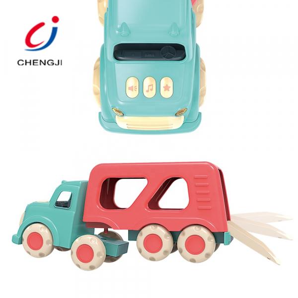 Masinuta de Jucarie Bebe Camionu de transport Vehicole 2