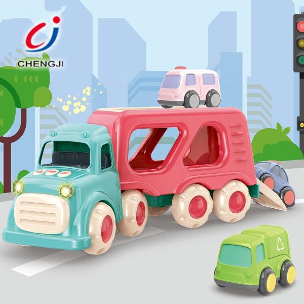 Masinuta de Jucarie Bebe Camionu de transport Vehicole 0