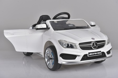 Masinuta electrica Mercedes CLA45 copii 12v [0]