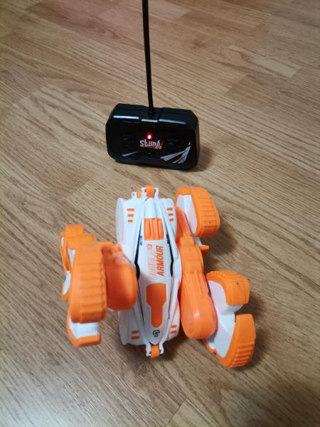 Masinuta cu telecomanda 360 grade copii Storm Stunt 5