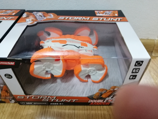 Masinuta cu telecomanda 360 grade copii Storm Stunt 8