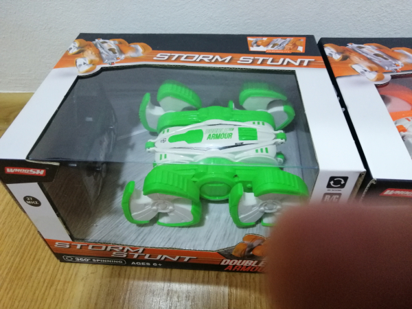 Masinuta cu telecomanda 360 grade copii Storm Stunt 7