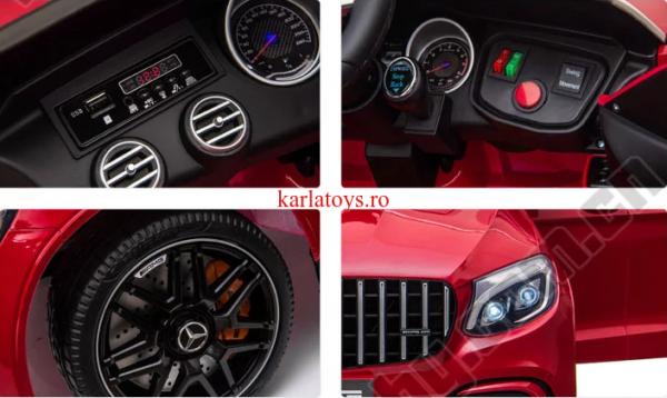 Masinuta electrica copii Mercedes AMG GLC63S  12V 4x4 [1]