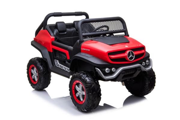 Masinuta electrica copii Mercedes Benz Unimog Jeep 4x4 2