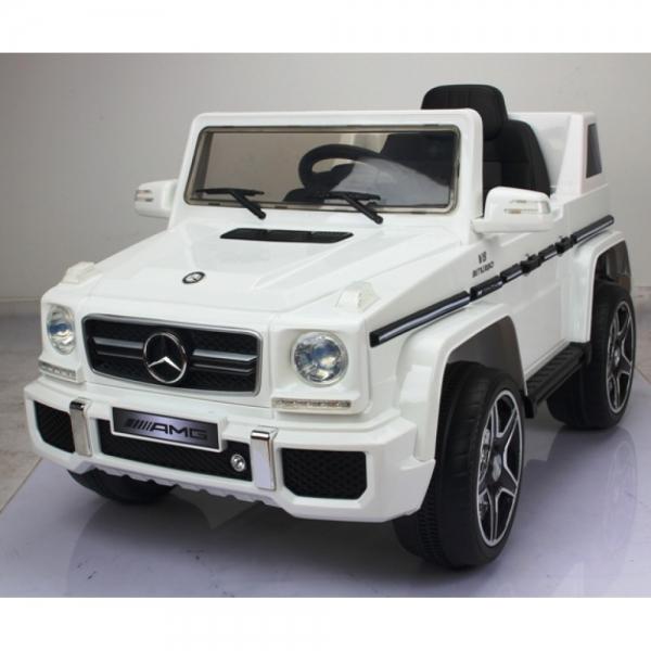 Masinuta electrica Jeep Mercedes G63 pentru copii 12v [4]