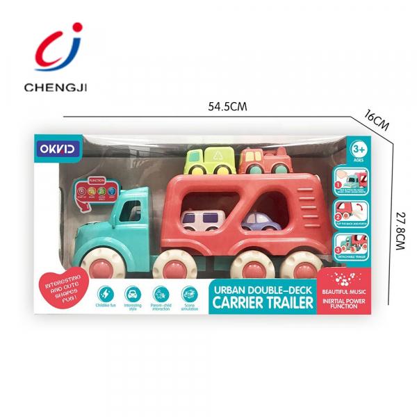 Masinuta de Jucarie Bebe Camionu de transport Vehicole 1