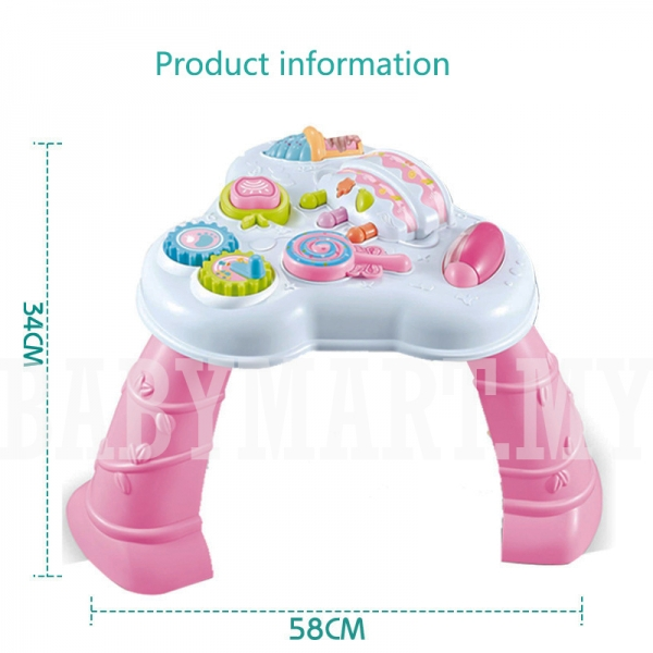 Masuta cu activitatii multifunctionala bebe 2 in 1 [1]