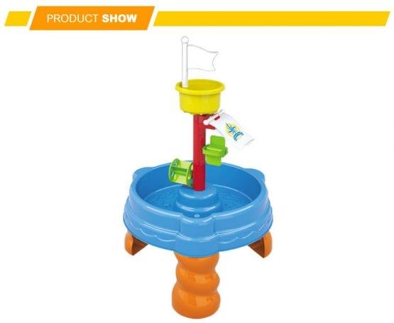 Masuta de joaca cu apa si nisip cu 20 piese 2