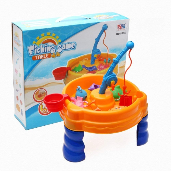 Masuta de joaca apa si nisip Pescuim Fishing Game 0