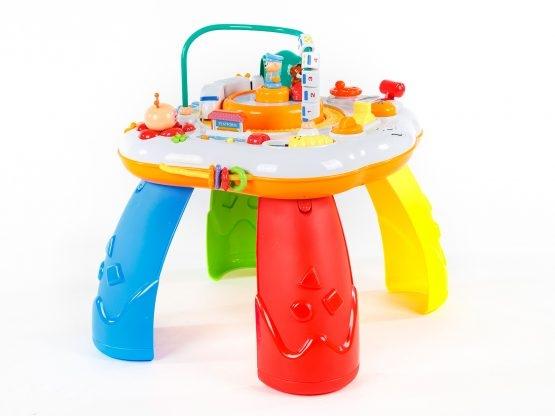 Masuta activitatii bebe Goodway cu trenulet si pian [4]