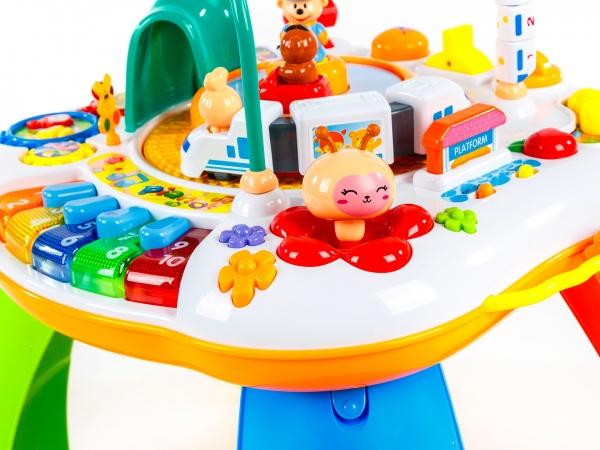 Masuta activitatii bebe Goodway cu trenulet si pian [2]