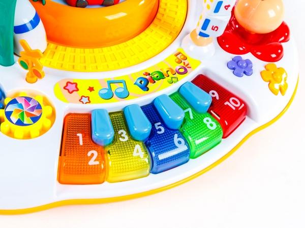 Masuta activitatii bebe Goodway cu trenulet si pian [1]