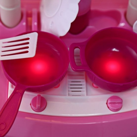 Bucatarie mini pentru copii cu lumini si sunete 5