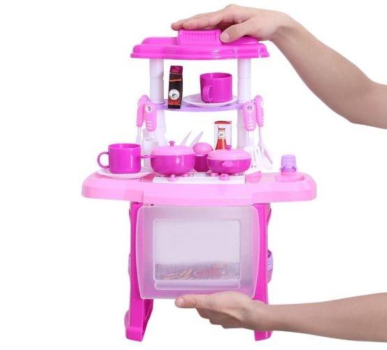 Bucatarie mini pentru copii cu lumini si sunete 3