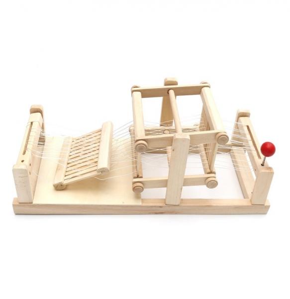 Jucarie de Tesut pentru copii din lemn 0