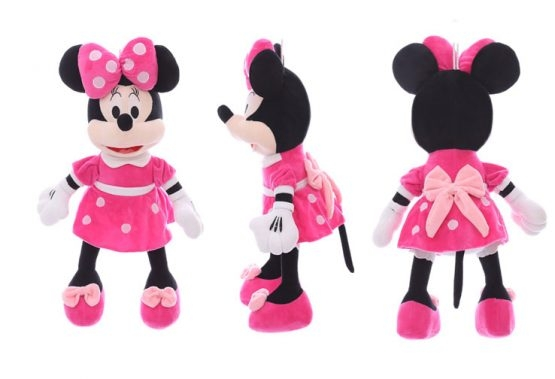 Jucarie plus Minnie Mouse  35 cm muzical 0