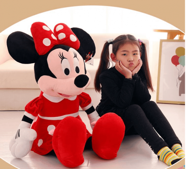 Jucaria din plus Minnie Mouse mare 1m 1