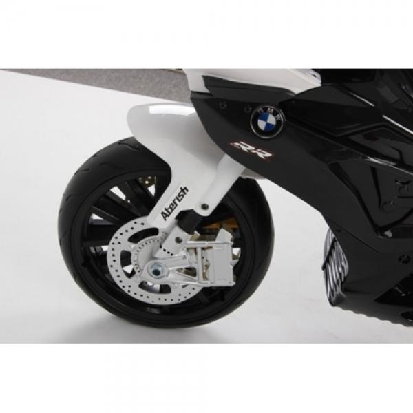 Motocicleta Bmw 12 v cu roti ajutatoare pentru copii 7